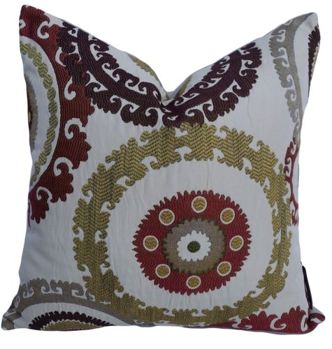 Taraz Teak Cushion Covers
