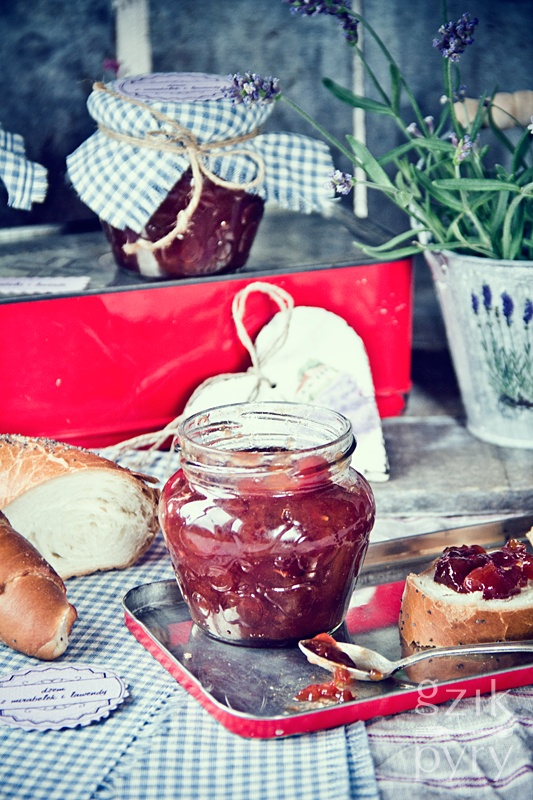 mirabelle and lavender jam