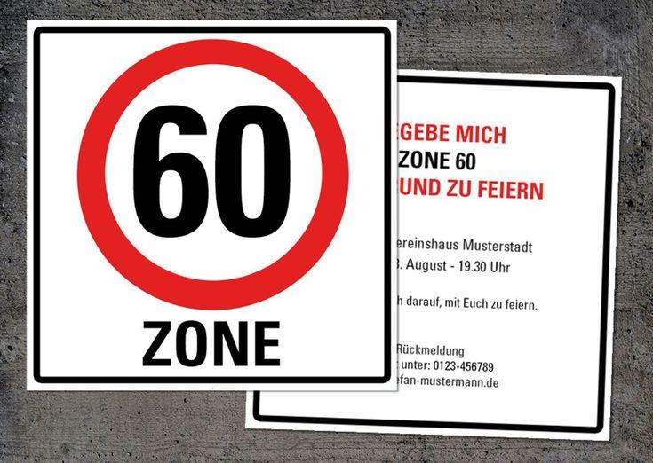 přes 25 nejlepších nápadů na téma einladungskarten 60. geburtstag, Einladungsentwurf