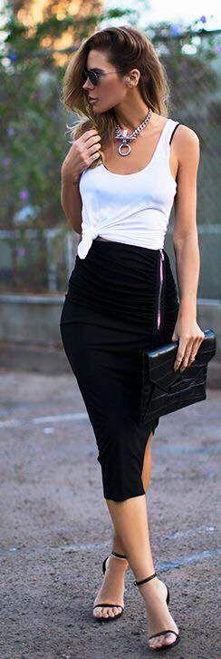 Ponte a la moda, YA! Los 13 mejores OutFit de falda. El #12 Me encanta!!!
