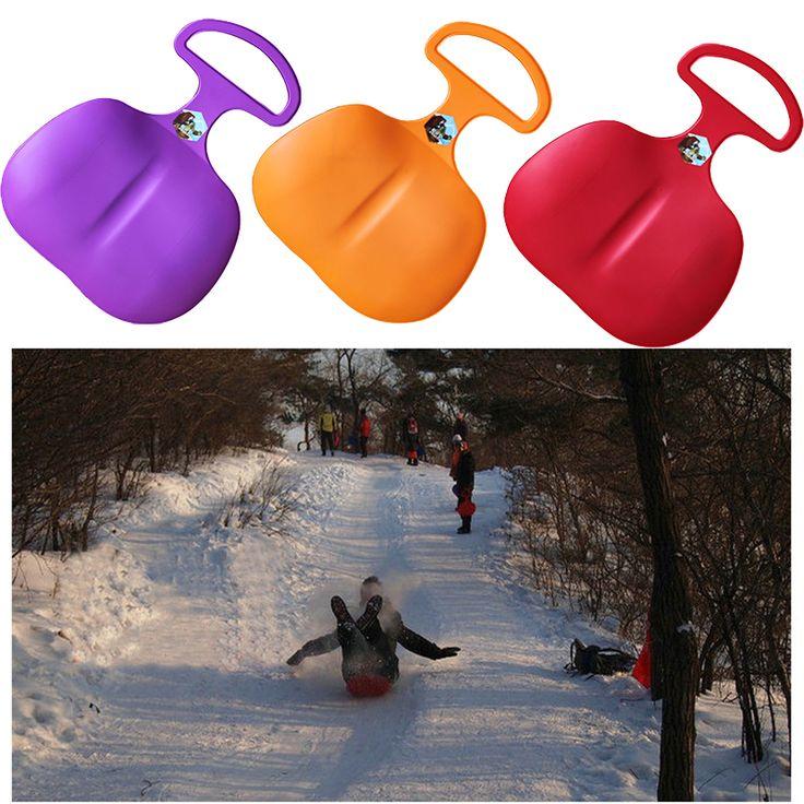2017 Новый Зимой На Открытом Воздухе Лыжный Доска Взрослых Дети Пластиковые Лыжи Доски Трава лыжи Лыжного Снаряжения Подарок для Детей