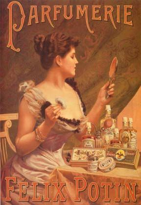 Artistic vintage advertisments, posters, art | ... Felix Potin Giclee Prints Vintage Perfume and Cosmetic Posters