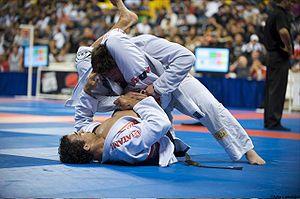 Brazilian Jiu-Jitsu nadie puede escapar de ese triángulo :x