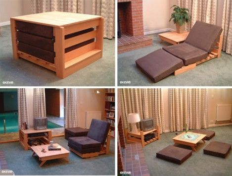 Kewb Furniture For A Small Space. I LOVE The Bottom Two. Canu0027t  Space Saving Furniture For Small Apartments
