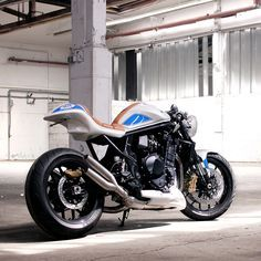 Suzuki enters the custom game—with a little help from legendary Katana designer Hans A. Muth. This heavily modified Bandit 1250 is nicknamed 'FatMile' and it's going to be unveiled at the Glemseck 101 cafe racer festival in Germany. Would you put it in your garage?
