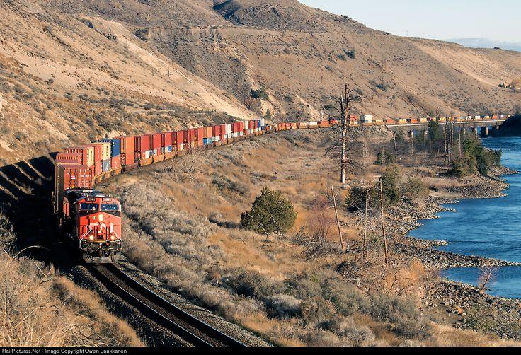 RailPictures.Net Photo: CN 2941 Canadian National Railway GE ES44AC at Walhachin, British Columbia, Canada by Owen Laukkanen
