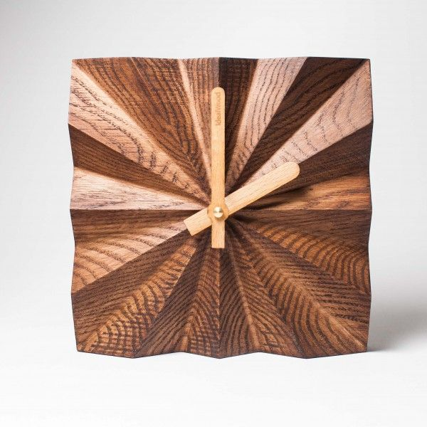 Wood Clock | Home / Table And Wall Clock A 0038