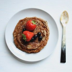 Gluten-Free Sugar-Free Banana Pancakes www.lifeinfullcolour.co.uk
