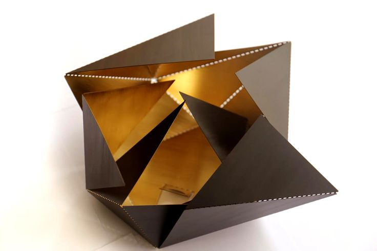 Folding Lamp - Brass Version - Thomas Hick