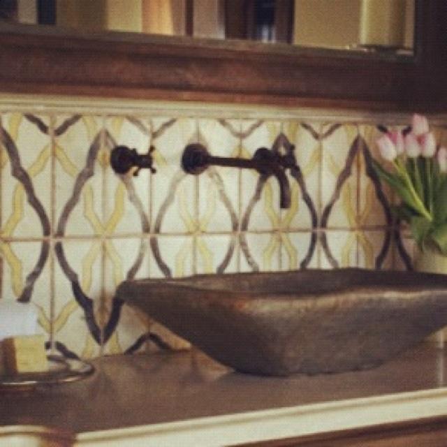 Www Tabarkastudio Com Terracotta Bathroom Tiles