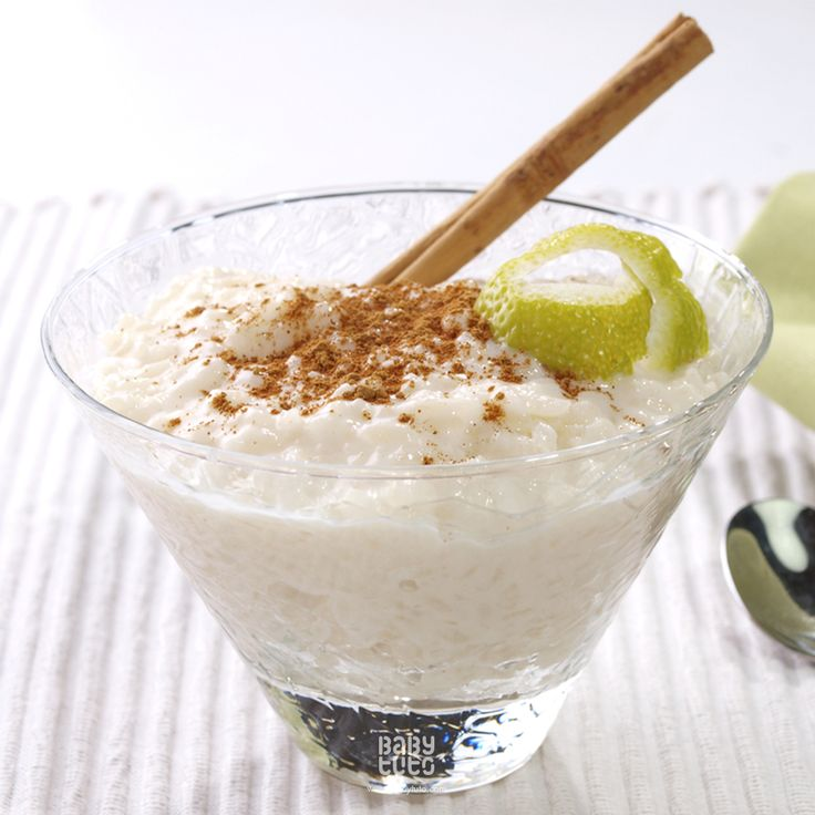 #BabyReceta | Arroz con leche sin lactosa: http://bit.ly/1f9aN7h