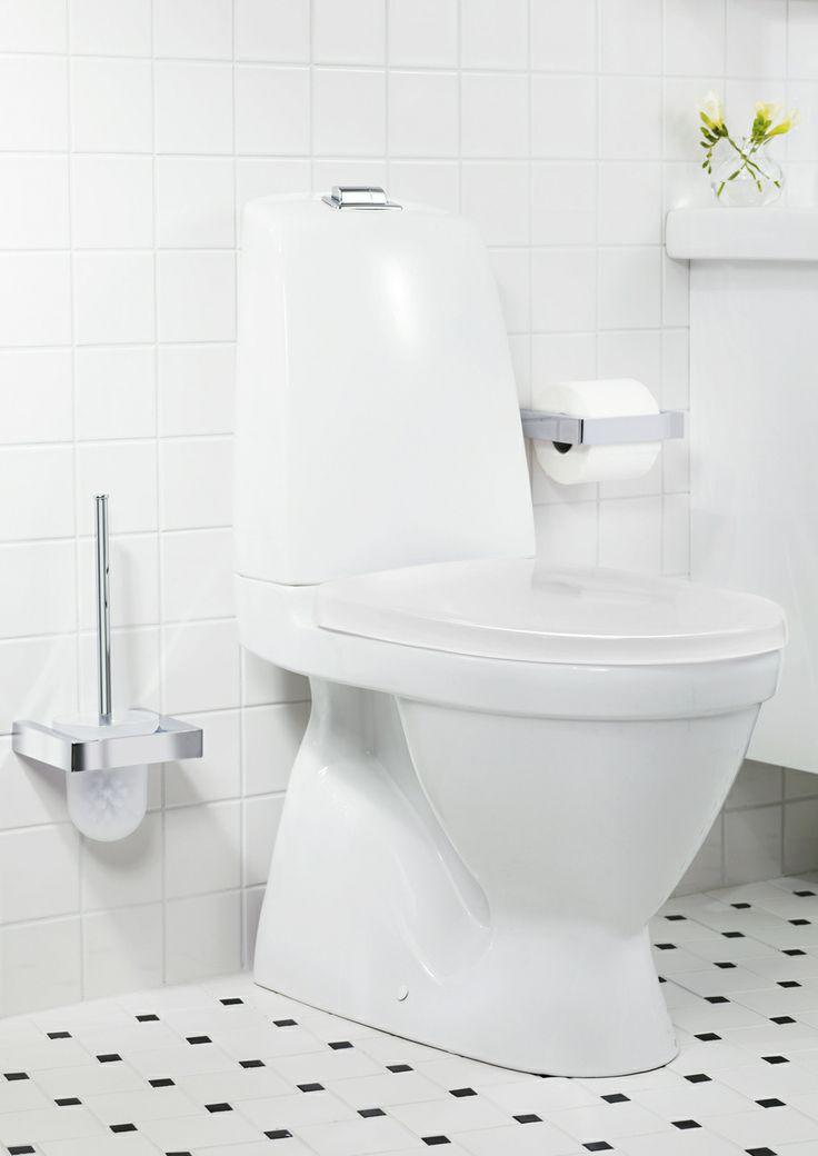 Toalettstol från Nautic med dubbelspolning. | GUSTAVSBERG