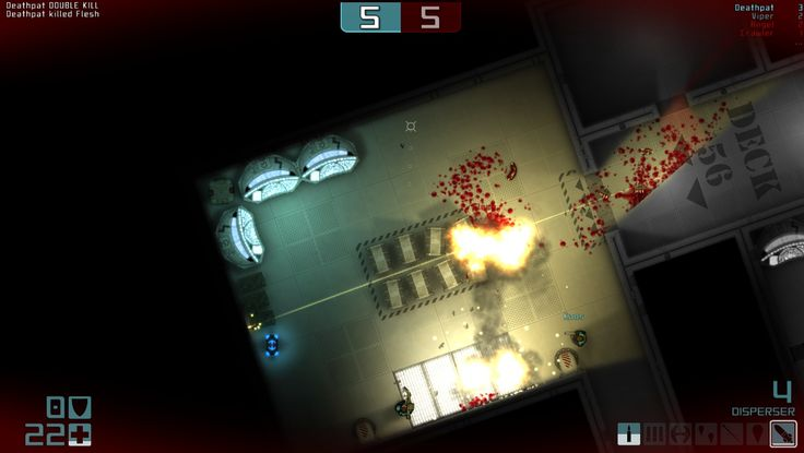 Daedalus (top down shooter) http://steamcommunity.com/sharedfiles/filedetails/?id=143234929