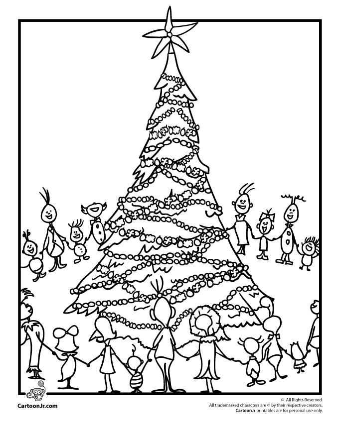 Printable Grinch Coloring Pages Ideas Free Coloring Sheets Grinch Coloring Pages Christmas Tree Coloring Page Christmas Coloring Pages