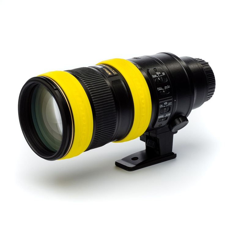 Make your lens match with your camera. Don't just buy a yellow case, but also our yellow rings!