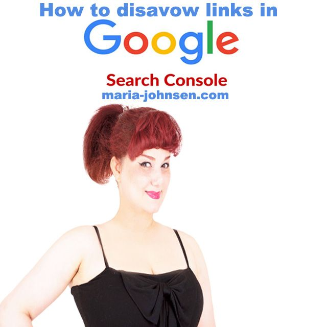 How to disavow links in Google search console | Million Dollar Blog