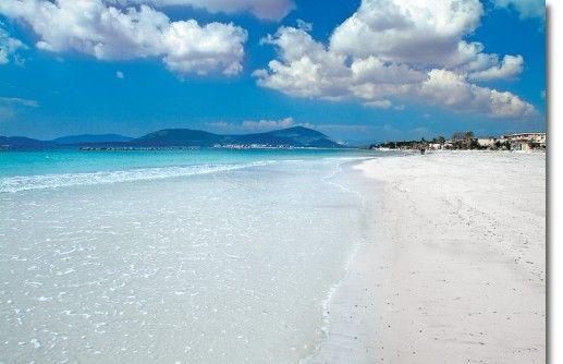 Alghero, Sardinia - Italy. I went twice. The beaches really are exactly like…