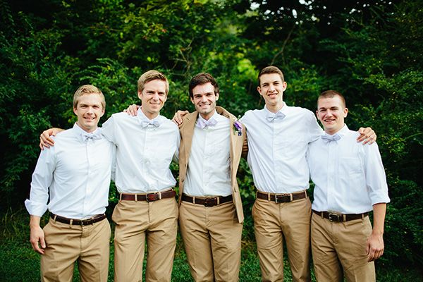simple summer groomsmen look | Alex Bee #wedding