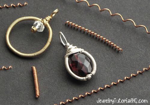 Video: how to make wire coils by hand (without any fancy tools!) #jewelrymaking #jewelrytutorial