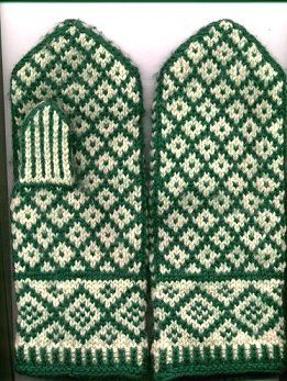 lovely Latvian mittens