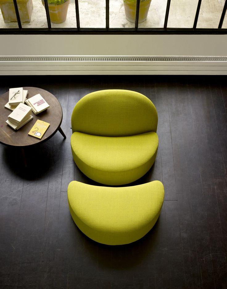 Elysee, Armchairs Designer : Pierre Paulin   Ligne Roset
