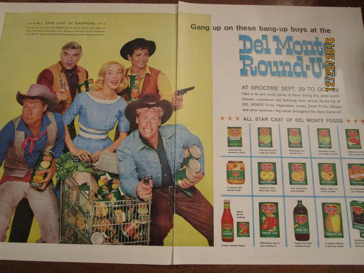 Popular Western stars 1960s - Bonanza - Michael Landon, Lorne Green, cutest Doug McClure and John Smith - and some lucky chick !