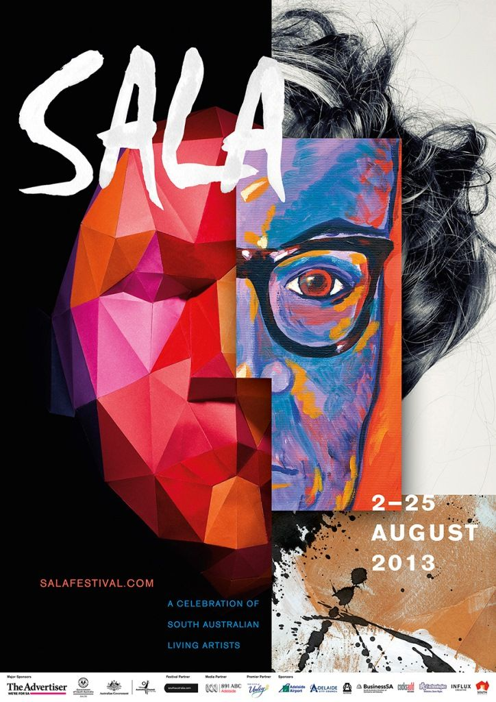SALA - South Australian Living Artists Festival. The month of August is Arts month in South Australia.