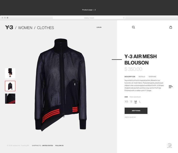 Adidas Y-3 Concept on Behance