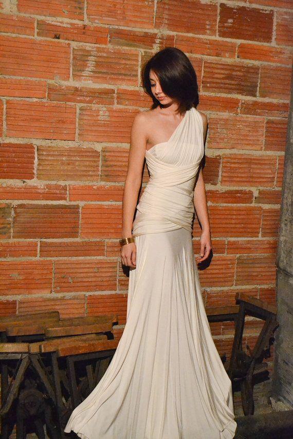 Convertible Infinity Dress Convertible Dress Wedding by madestudio, $185.00