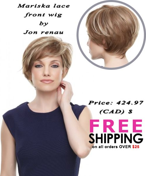 Mariska is the perfect mashup of pixie shortness and long front layers! The #SmartLace front, #monotop, and 100-percent hand tied cap look and feel supremely natural.  Price: 424.97 (CAD) $ #FreeSipping on all order over $25 http://www.hairandbeautycanada.ca/mariska-smart-lace-front-wig-canada  #Humanhair #wigscanada #wigs   #wig   #hairextensions   #synthetic