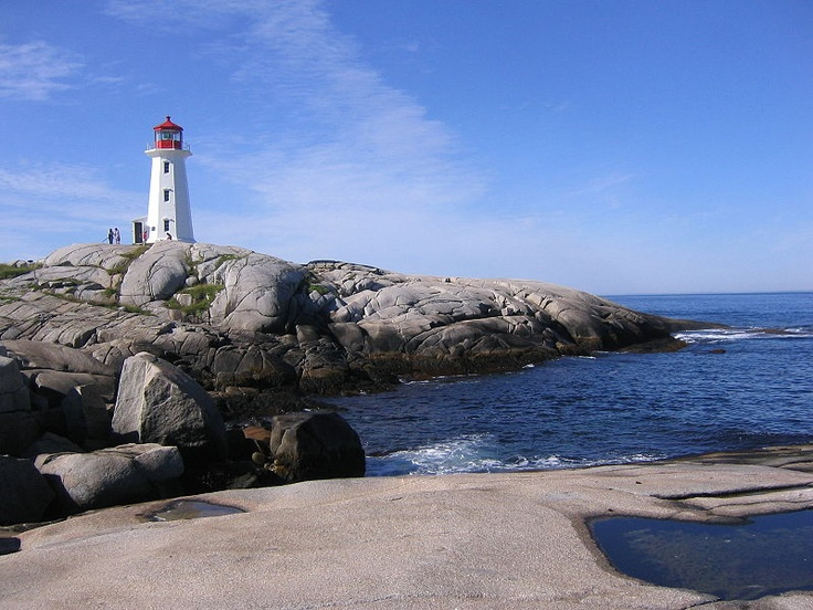Love everything about the Maritimes - of course Peggy's Cove