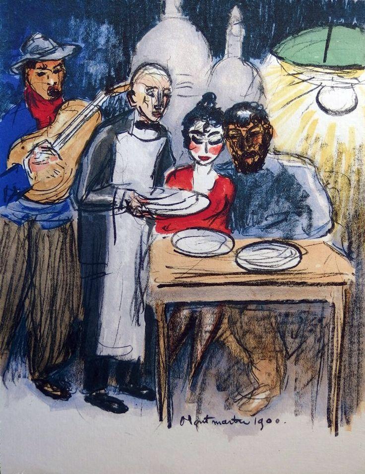 Kees van Dongen - Montmartre, 1900
