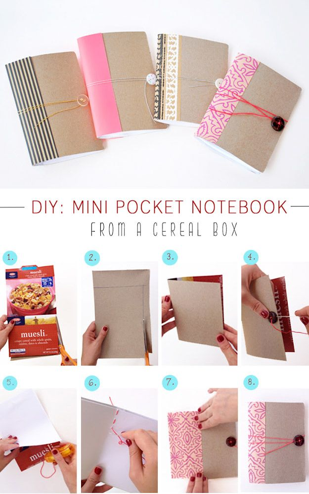 76 Crafts To Make and Sell - Easy DIY Ideas for Cheap Things To Sell on Etsy, Online and for Craft Fairs. Make Money with These Homemade Crafts for Teens, Kids, Christmas, Summer, Mother's Day Gifts. |  Mini Pocket Notebooks  |  diyjoy.com/crafts-to-make-and-sell