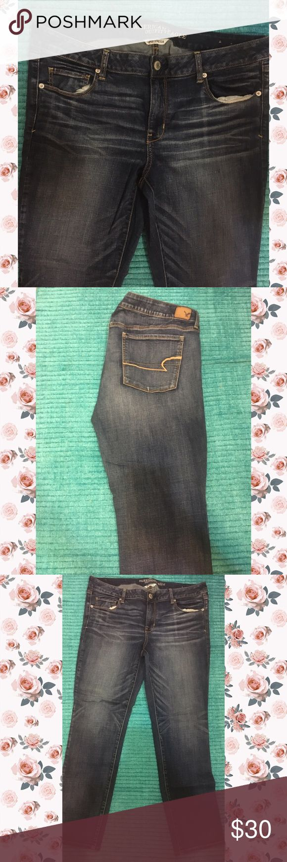 American Eagle Jeans Regular fit. Barely worn. Plus size American Eagle Outfitters Jeans Boot Cut
