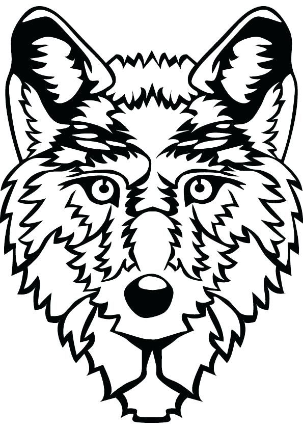 Babies Wolf Coloring Page - Download & Print Online Coloring Pages ... | 842x595
