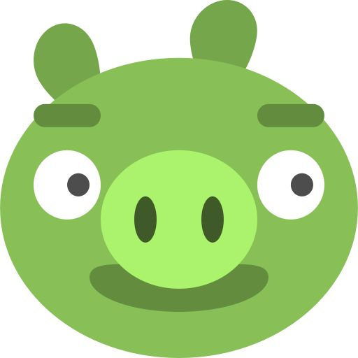 Angry, bad, birds, game, ios, pig icon