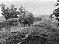 Scotland's forgotten clearances The picture is taken c 1910 and is of a hay wagon on McCowan Road. The McCowans arrived in Toronto in 1833 with nothing but their clothes. Within 15 years they owned a farm of several hundred acres The Highland clearances are a well documented and painful episode in Scotland's past. Andrew Cassell argues on BBC Radio that clearances in the Lowlands changed the lives of many more Scots and were just as important in the shaping of rural Scotland. 16May03