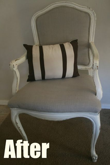 How to Upholster a Caned Back Chair: Tutorial-- perfect for the free chair I got by the dumpster today!