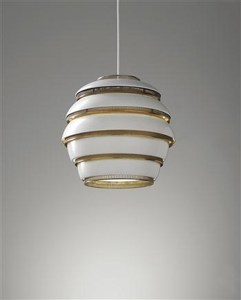 ALVAR AALTO 'Beehive' ceiling light, model no. A 331