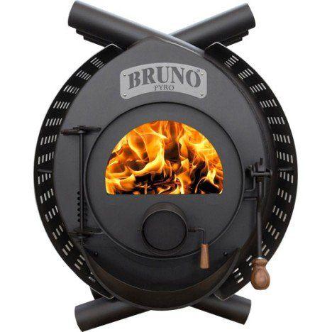 Poêle à bois BRUNO Type Arcade Pyro, 13 kW