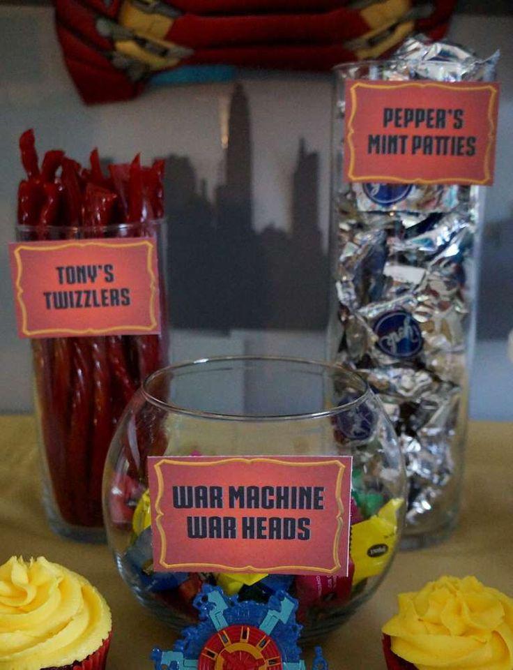 Ironman Birthday Party - Birthday Party Ideas & Shops