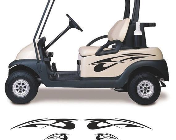 Golf Cart Decals Golfer Gifts Go Kart Stickers Accessories Etsy In 2020 Golf Carts Golf Cart Accessories Yamaha Golf Carts