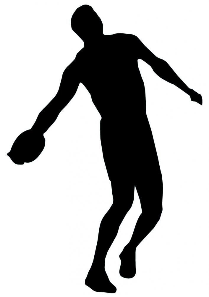discus silhouette -#main