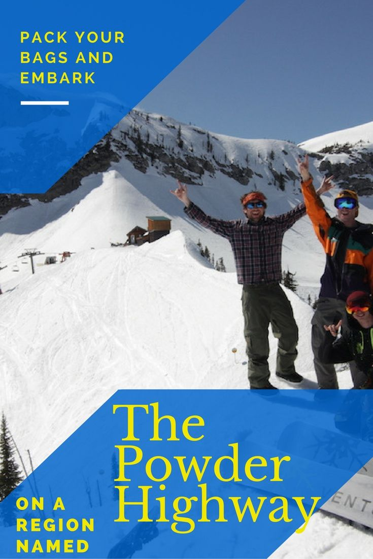 Pack your bags and embark on a region aptly named the Powder Highway! Read it now - http://skifernie.com/pack-bags-embark-region-aptly-named-powder-highway/