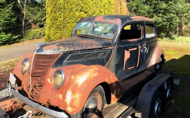All Steel Steal 1937 Ford Tudor Touring Sedan In 2020 Sedan Touring Ford
