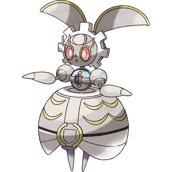 #Magearna from the official artwork set for #PokemonSunMoon on the #3DS. #Pokemon. http://www.pokemondungeon.com/pokemon-sun-and-moon-versions