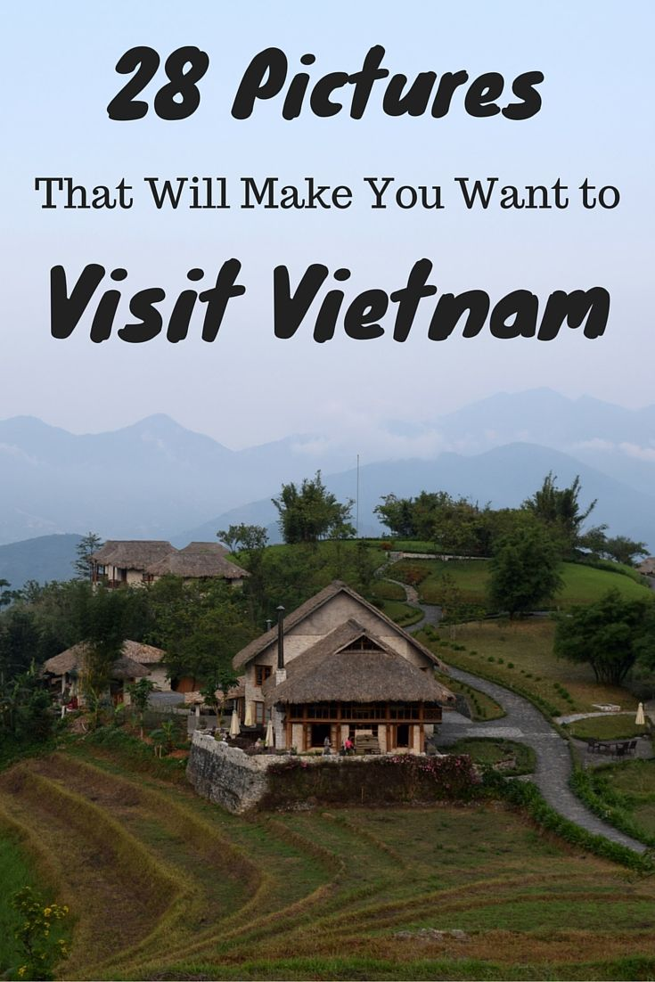 Vietnam is an amazing country and here are 28 stunning pictures that will make you want to visit this beautiful country