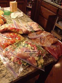 Crockpot Freezer Cooking w/ real ingredients