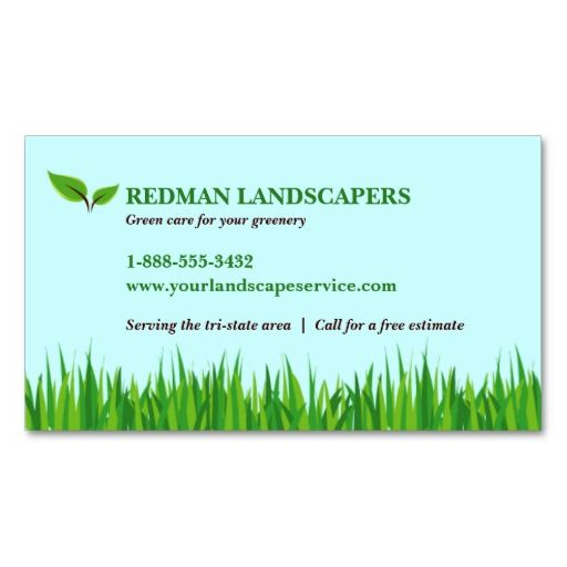 landscape card template
