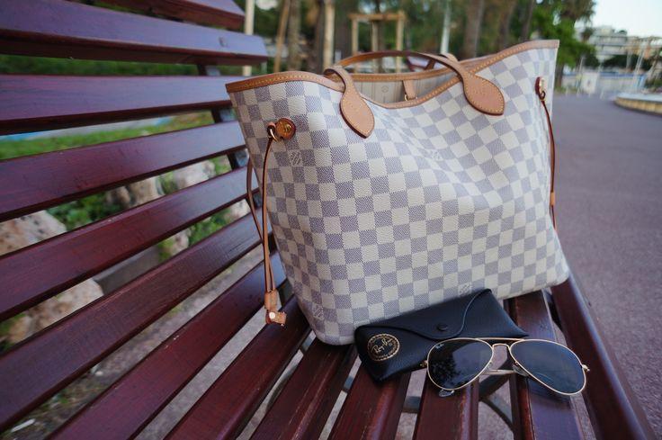 Louis Vuitton Neverfull Azur